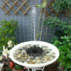 Floating Solar Fountain Outdoor Decoration