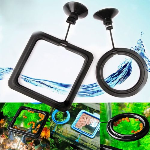 Floating Fish Feeder Aquarium Accessory