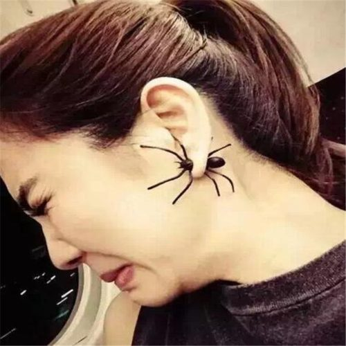 Spider Earring Scary Ear Accessory