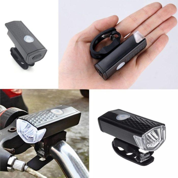 Rechargeable Bike Lights (2Pcs/Set)
