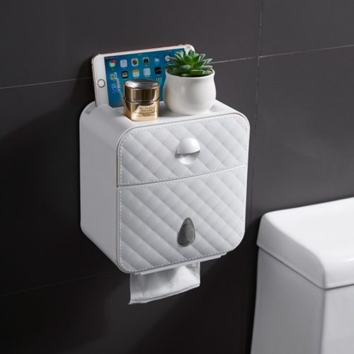 Toilet Paper Box Wall Mounted Storage