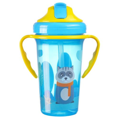 Straw Cup 400ml Kids Bottle