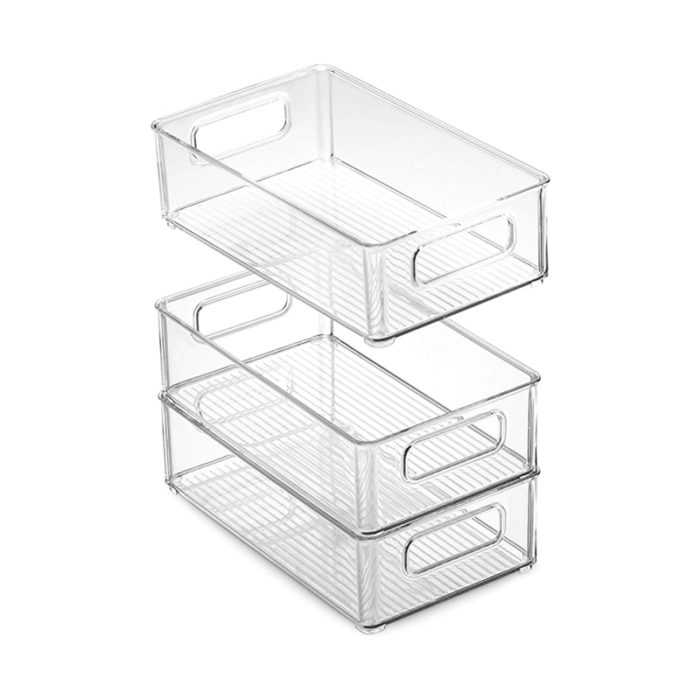 Stackable Refrigerator Organizers (6Pcs)