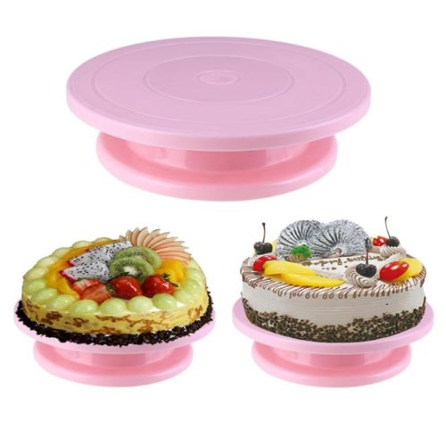 Revolving Cake Stand Decorating Tool