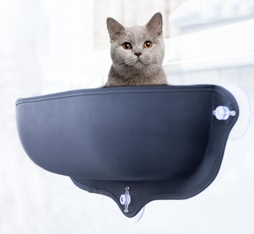Cat's Hammock Bed Window Mount