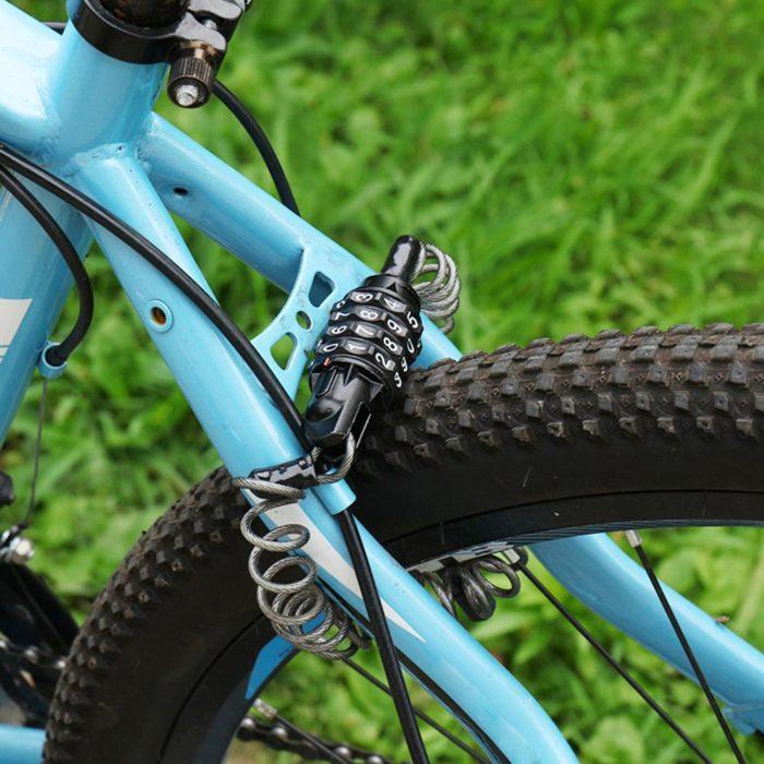 Keyless Helmet Lock for Bike