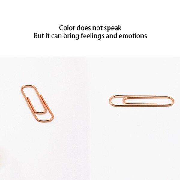 Paper Clip Holder with 100 Paper Clips