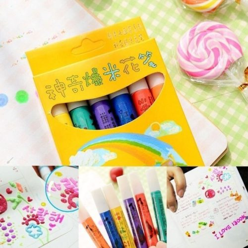Puffy Pens 3D Art Pens (6 PCs)