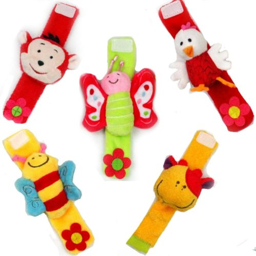 Wrist Baby Rattle Soft Infant Rattle Toy