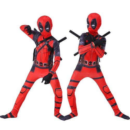 Boys Deadpool Costume Halloween Costume