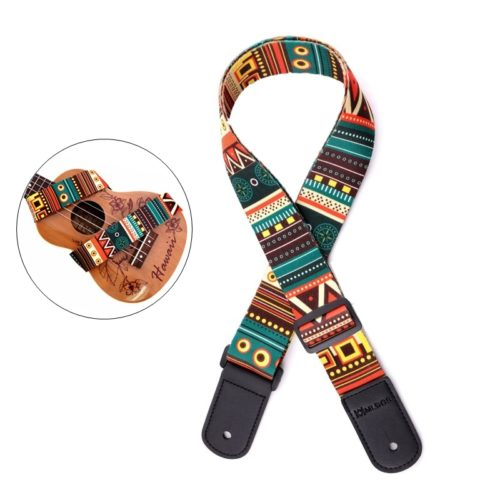 Ukulele Strap Adjustable Polyester Strap