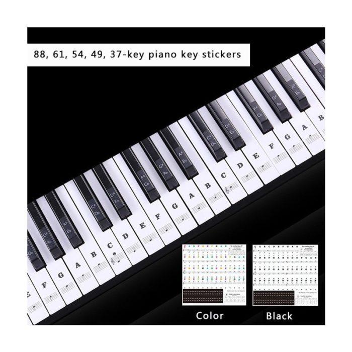 Piano Keyboard Stickers PVC Stickers