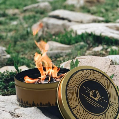 Portable Camp Fire Reusable Campfire