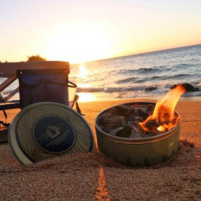 Portable Camp Fire Reusable Campfire