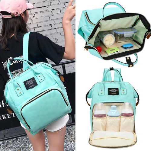 Mommy Backpack Diaper Bag