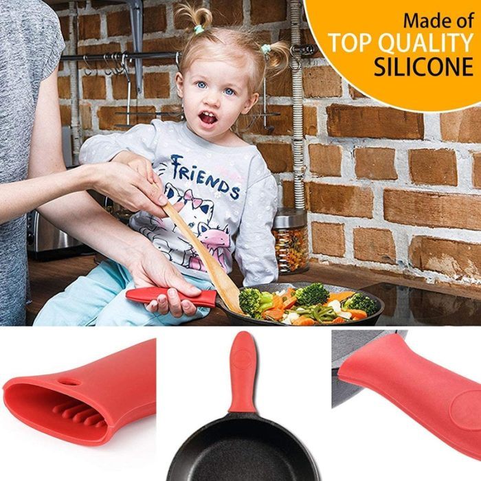 Cast Iron Handle Cover Silicone Sleeve