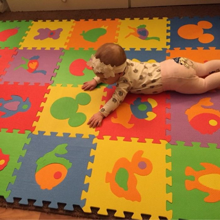 Baby Puzzle Mat Children Foam (10 Pcs)