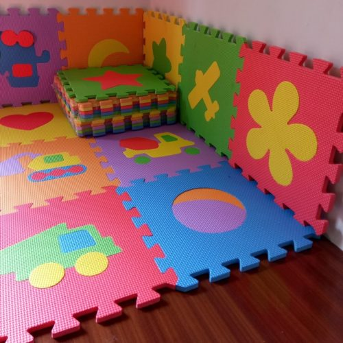 Baby Puzzle Mat Children Foam (10 Pcs)