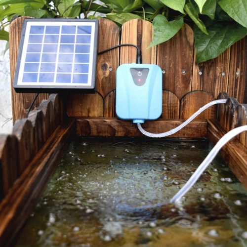 Solar Powered Aerator for Pond Outdoor Device