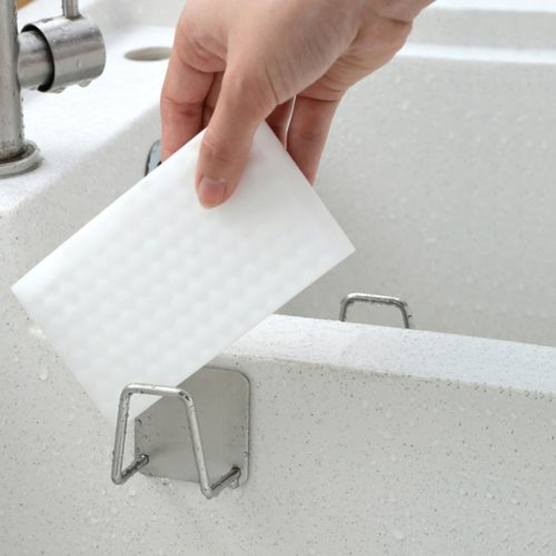 Dish Sponge Holder Self-Adhesive Sponge Dryer