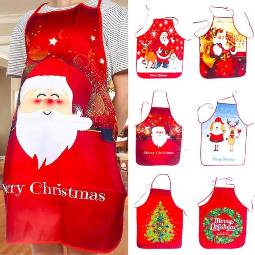 Apron For Christmas Cute Cooking Apron