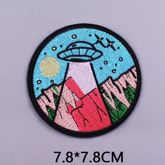 Iron On Patch Embroidered Clothes Patch