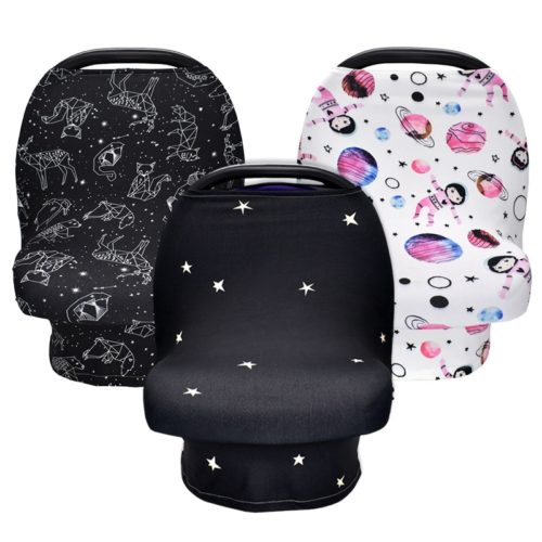 Baby Car Seat Canopy Nursing Cover