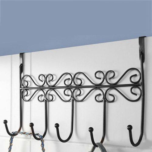 Door Clothes Hanger 5-Hook Clothes Rack