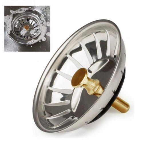 Drain Filter Metal Sink Strainer
