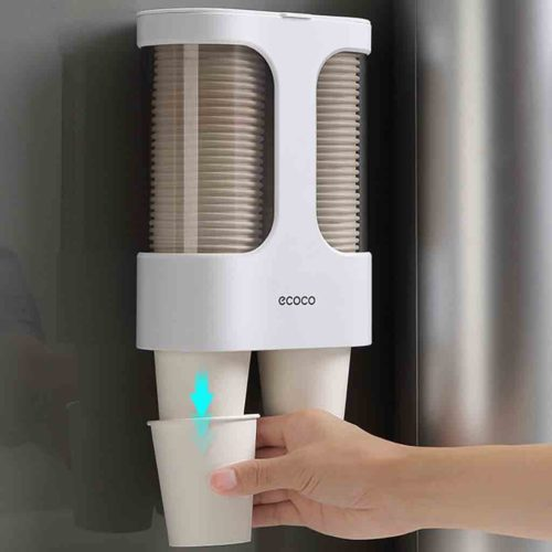 Paper Cups Dispenser Automatic Cup Holder