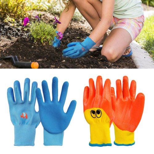 Kids Gardening Gloves Protective Wear
