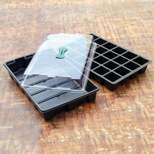 Propagation Tray 24-Cell Box with Lid
