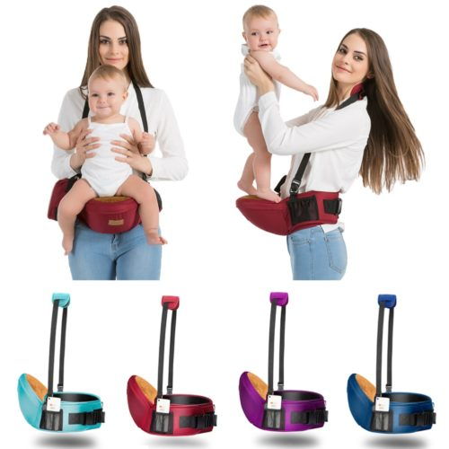 Hip Seat Baby Carrier with Sling