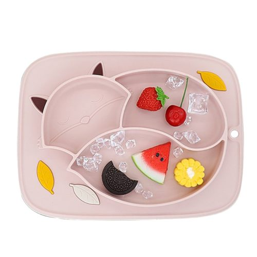 Suction Baby Plate Silicone Tray