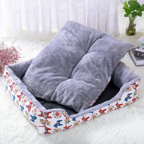 Calming Pet Bed Soft Plush Bed