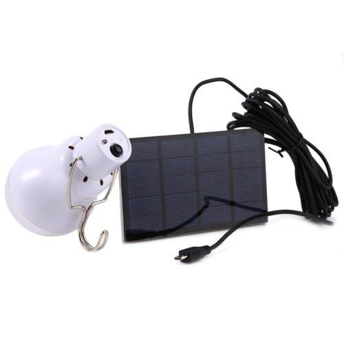 Portable 15W Solar Light Bulb