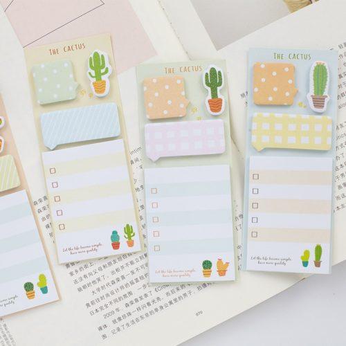 Cute Reminder Sticky Notepads