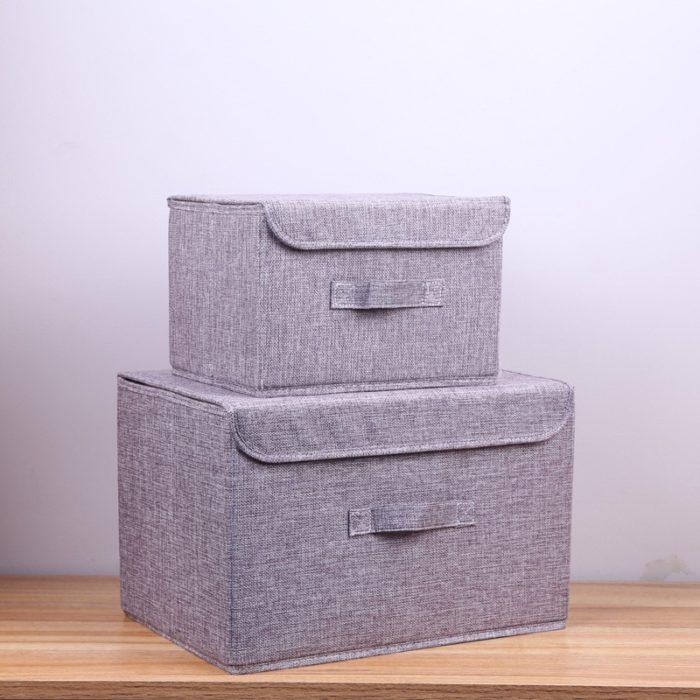 Folding Storage Box Fabric Basket