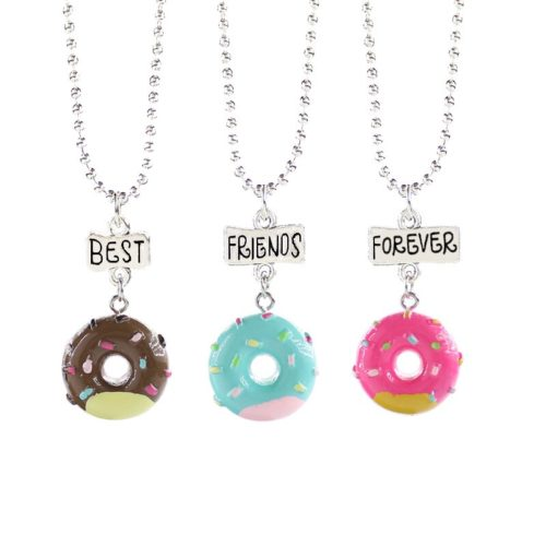 Cute BFF Necklaces Jewelry Set
