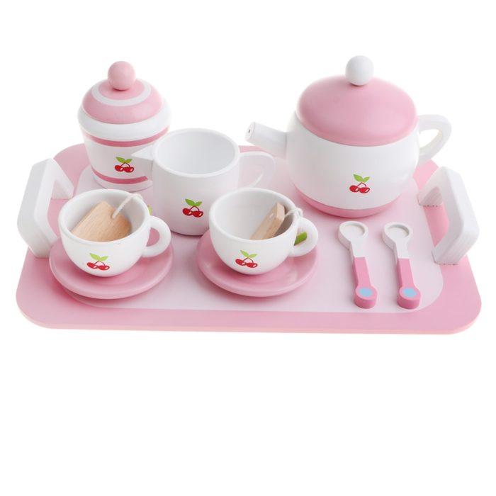 Wooden Tea Set Toy for Kids