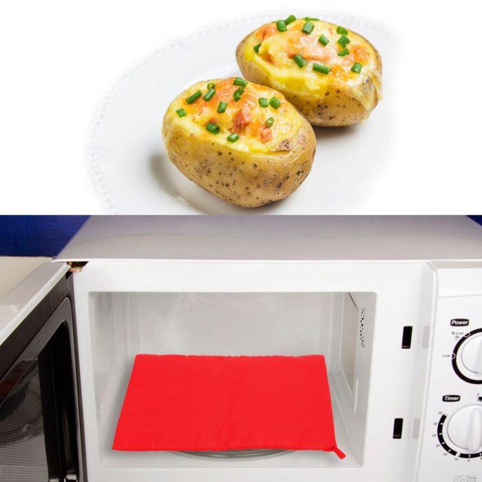Microwave Baked Potato Bag Reusable Bag