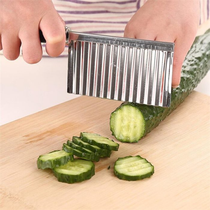 Potato Chip Slicer Wavy Edge Knife