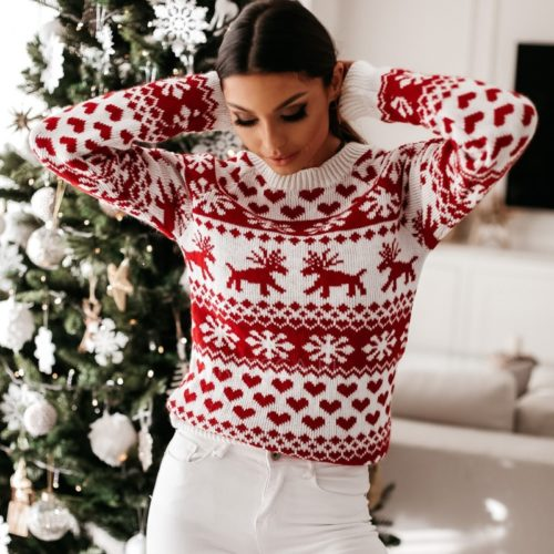 Christmas Sweater Casual Winter Wear