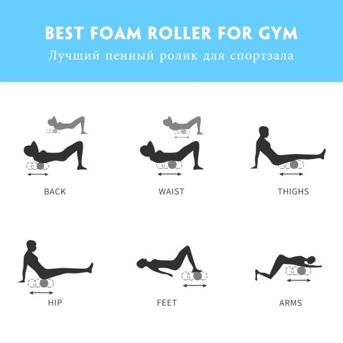 Massage Foam Roller Yoga Column