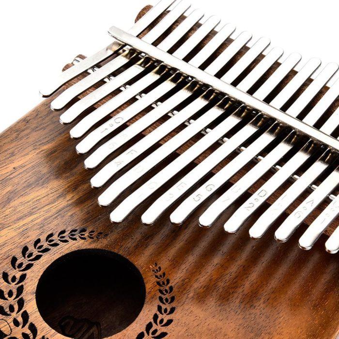 Electric Kalimba Wood Thumb Piano