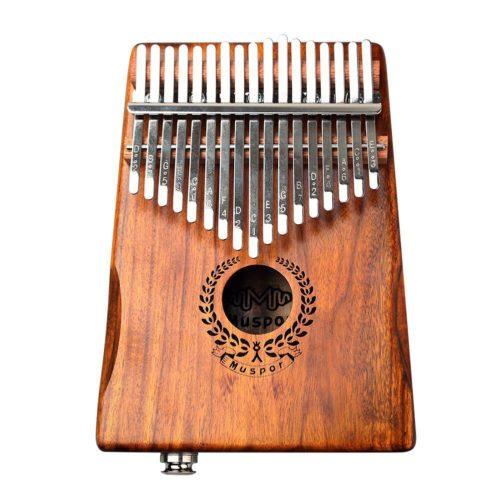 Electric Kalimba Wood Thumb Piano