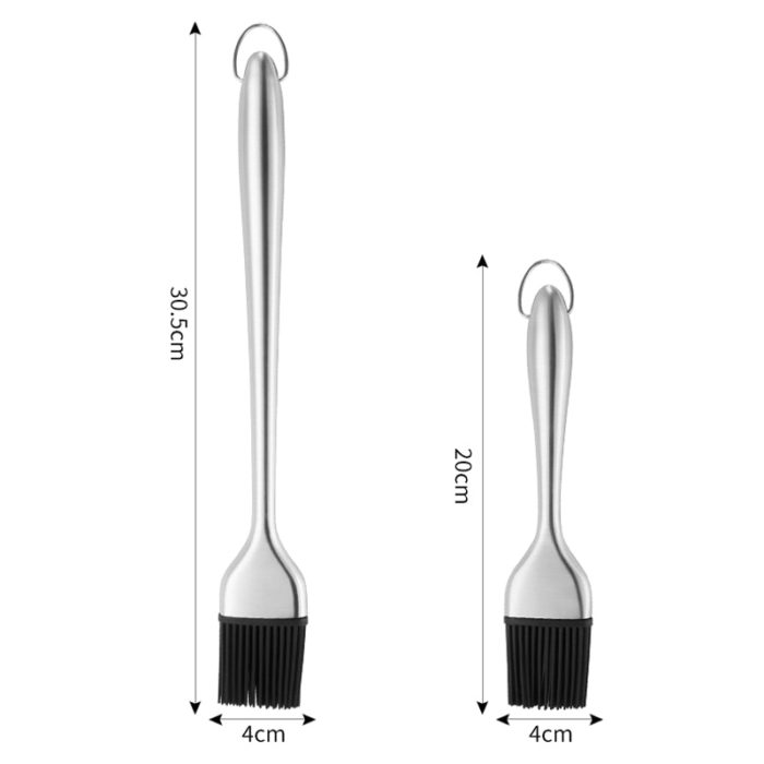 Oil Brush for Cooking Stainless Steel Handle