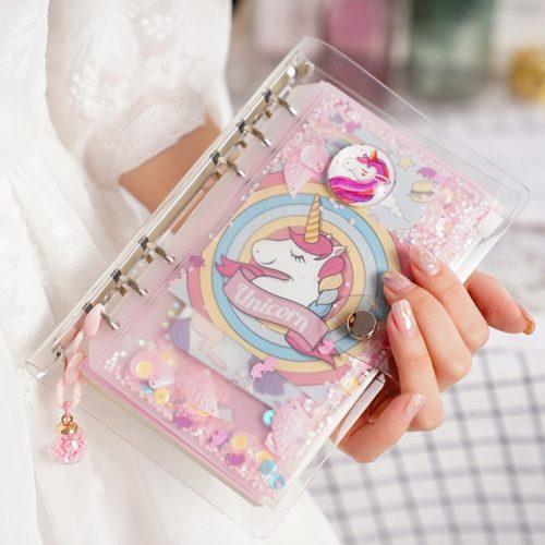 Girls Journal A6 Spiral Notebook