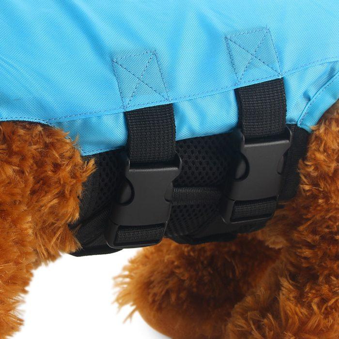 Dog Swim Vest Pet Protective Swimming Suit