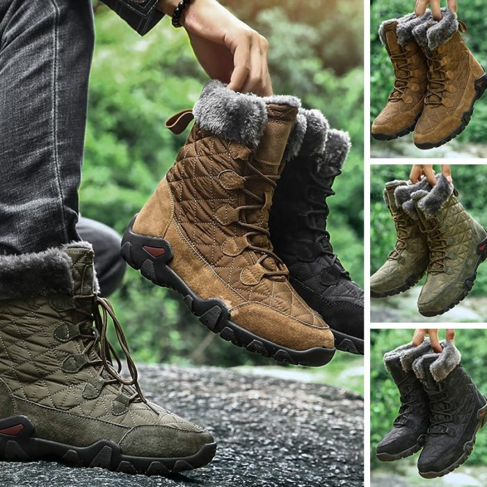 Winter Boots For Men Outdoor Hiking Shoes
